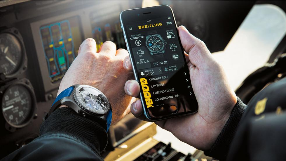 Breitling B55 Connected, complementa al smartphone