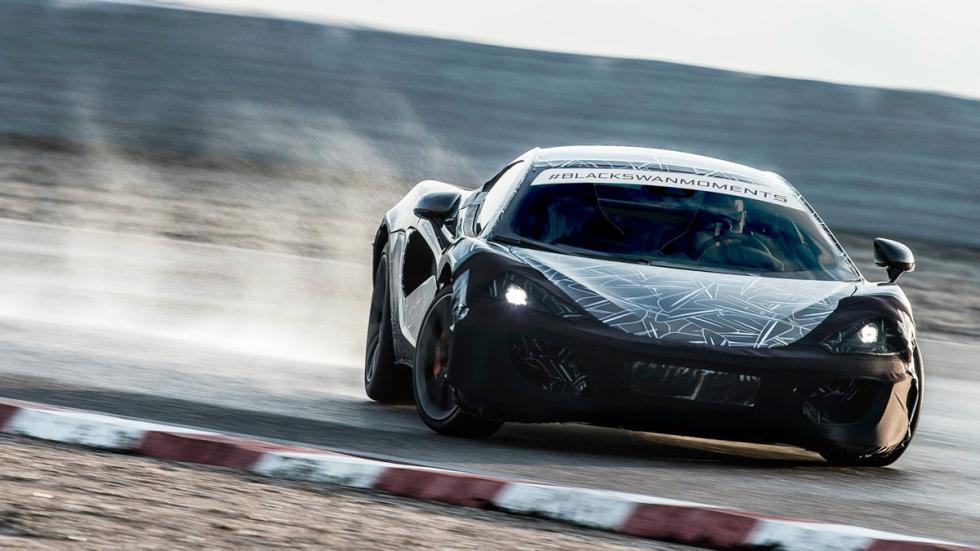 McLaren Sports Series frontal