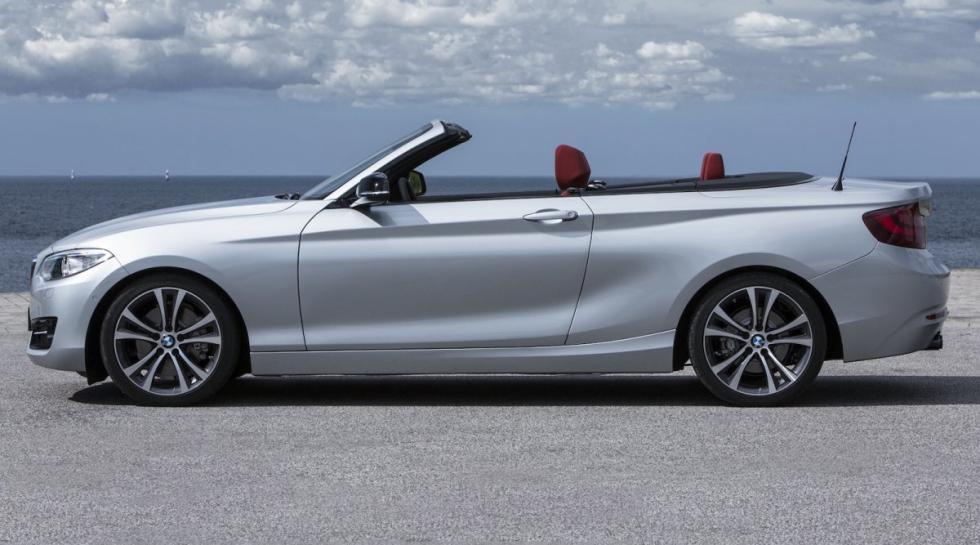 BMW Serie 2 Cabrio lateral