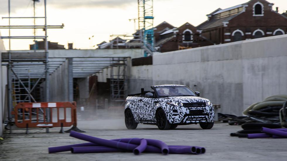 Range Rover Evoque Cabrio delantera