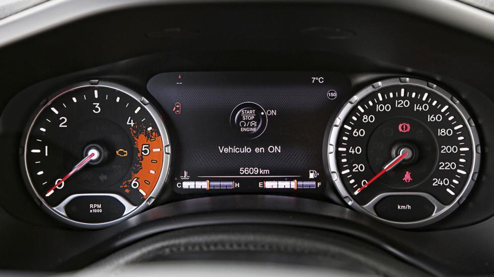 Cuadro de mandos del Jeep Renegade