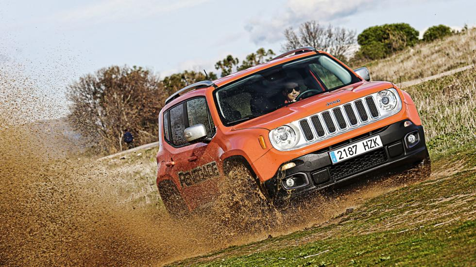 Jeep Renegade en campo