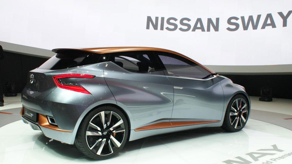 Nissan Sway Concept tres cuartos traseros