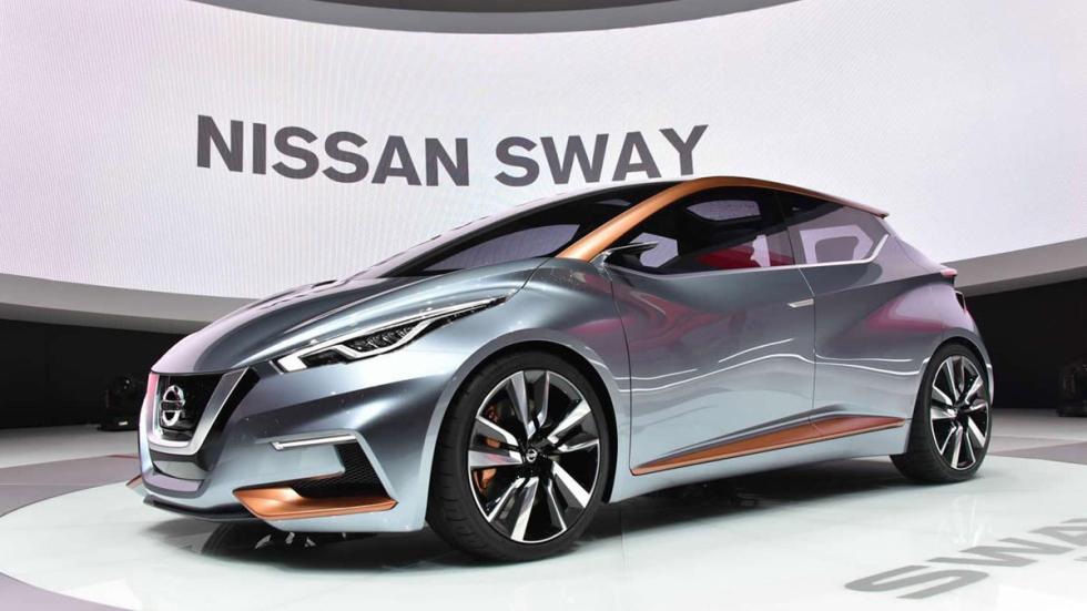Nissan Sway Concept tres cuartos delanteros