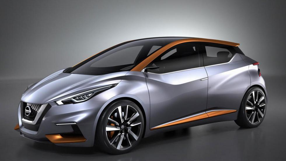 Nissan Sway Concept tres cuartos delantero