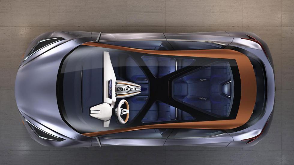 Nissan Sway Concept aérea