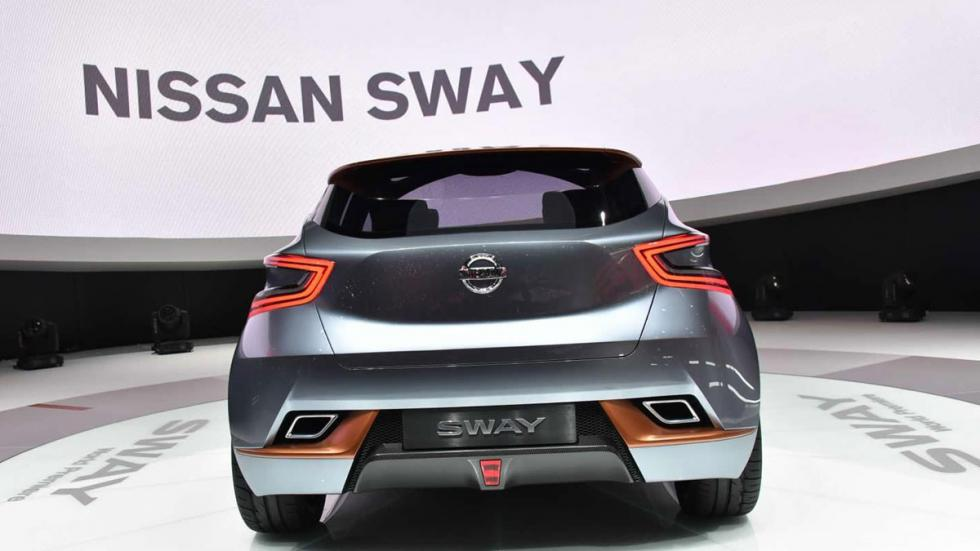 Nissan Sway Concept trasera