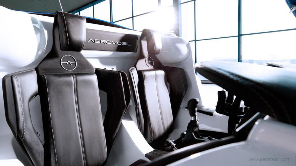 AeroMobil 3.0 asientos