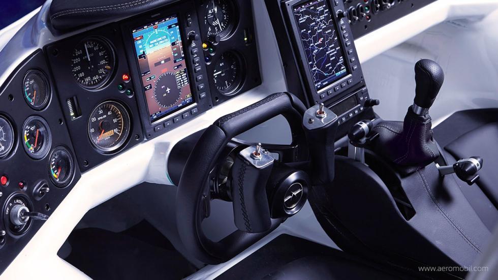 Interior AeroMobil 3.0