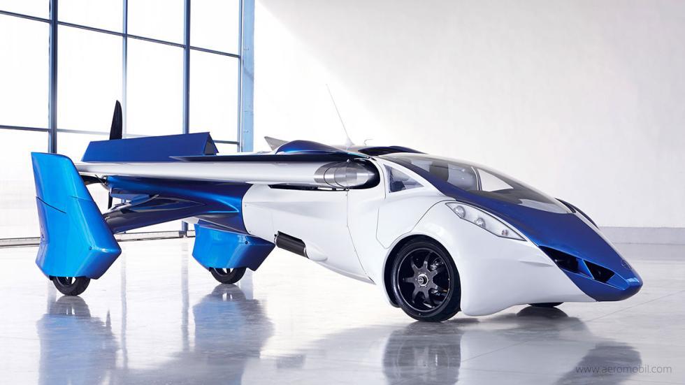 AeroMobil 3.0 tres cuartos delantera