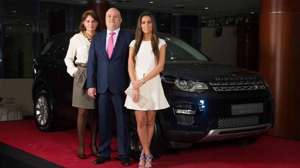 Belén Lacalle, José Sánchez y Ana Boyer