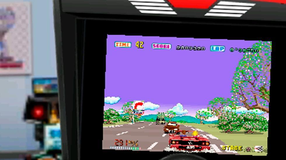 3D Out Run para Nintendo 3DS - pantalla reto