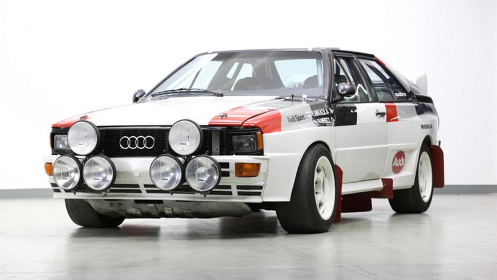 Audi Quattro A1 Grupo B 1982 frontal