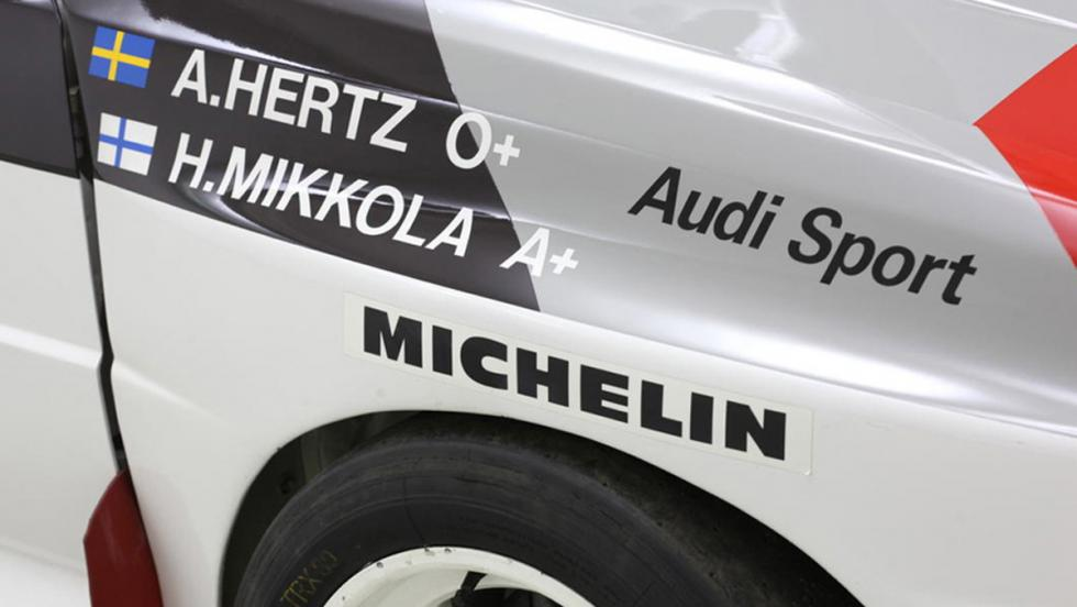 Audi Quattro A1 Grupo B 1982 nombres