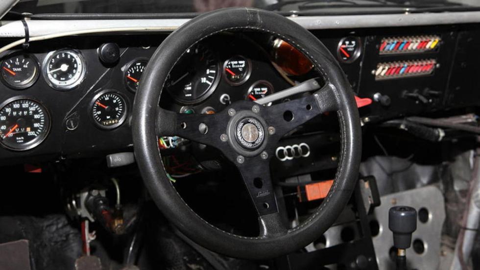 Audi Quattro A1 Grupo B 1982 volante