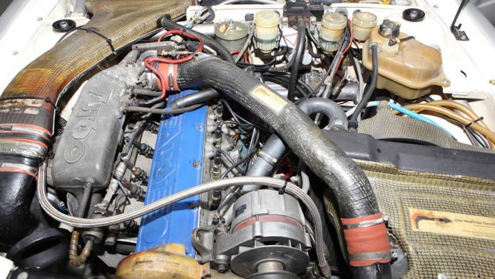 Audi Quattro A1 Grupo B 1982 motor