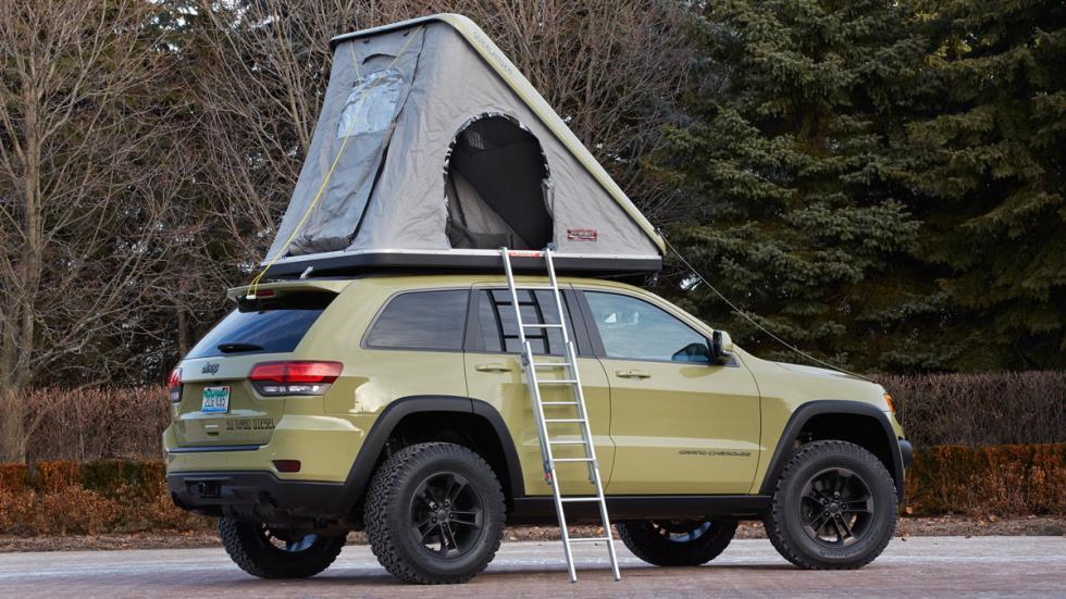 Jeep Grand Cherokee Overlander campaña