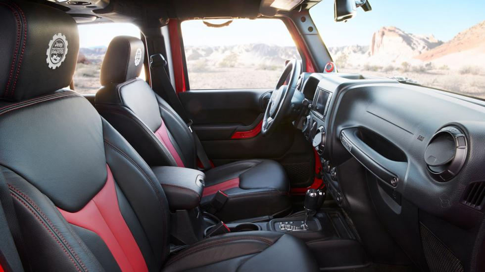 Jeep Wrangler Red Rock Responder interior