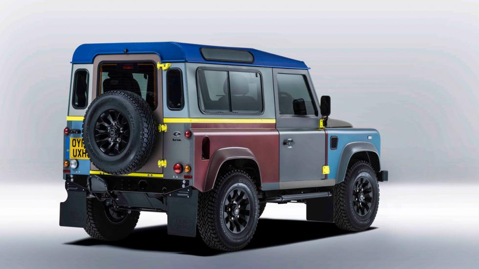 Land Rover Defender de Paul Smith - trasera