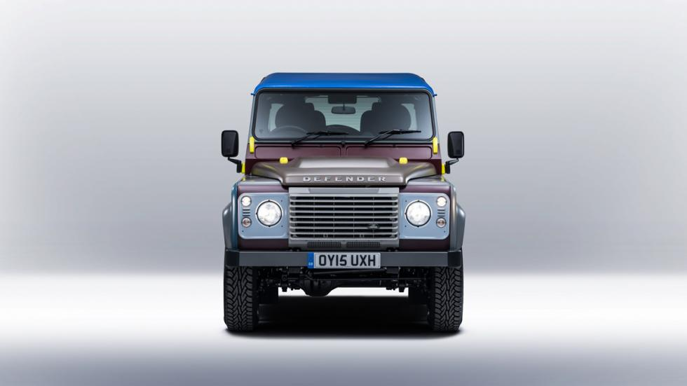 Land Rover Defender de Paul Smith - frontal