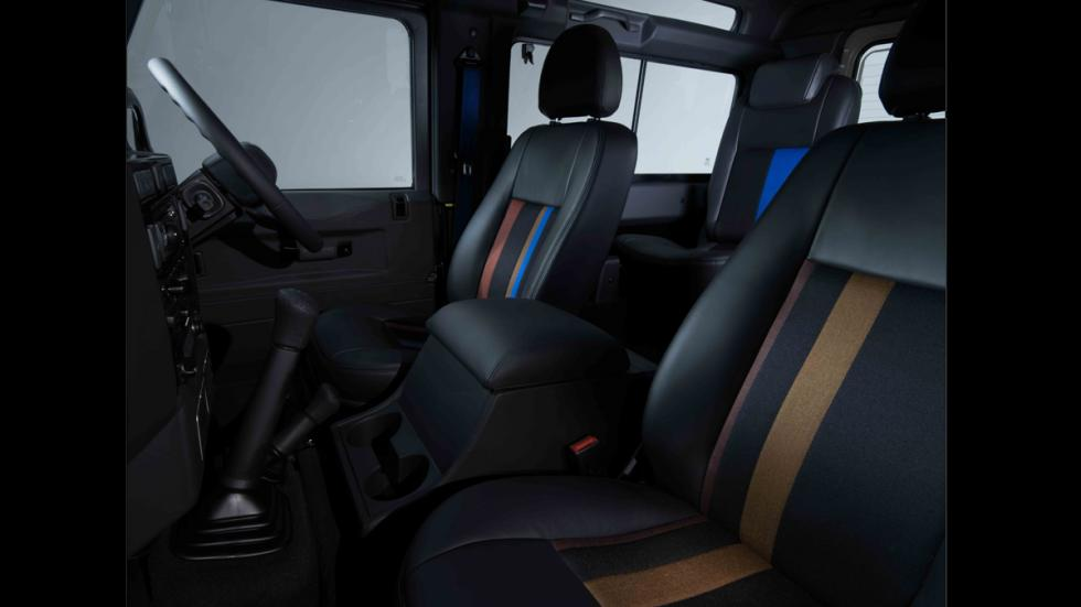 Land Rover Defender de Paul Smith - asientos