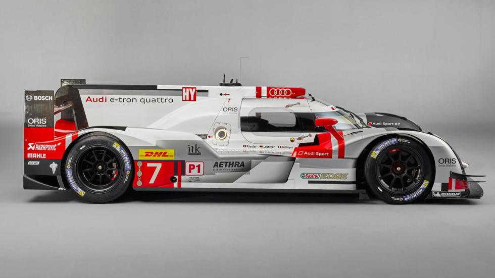 Audi R18 e-tron lateral
