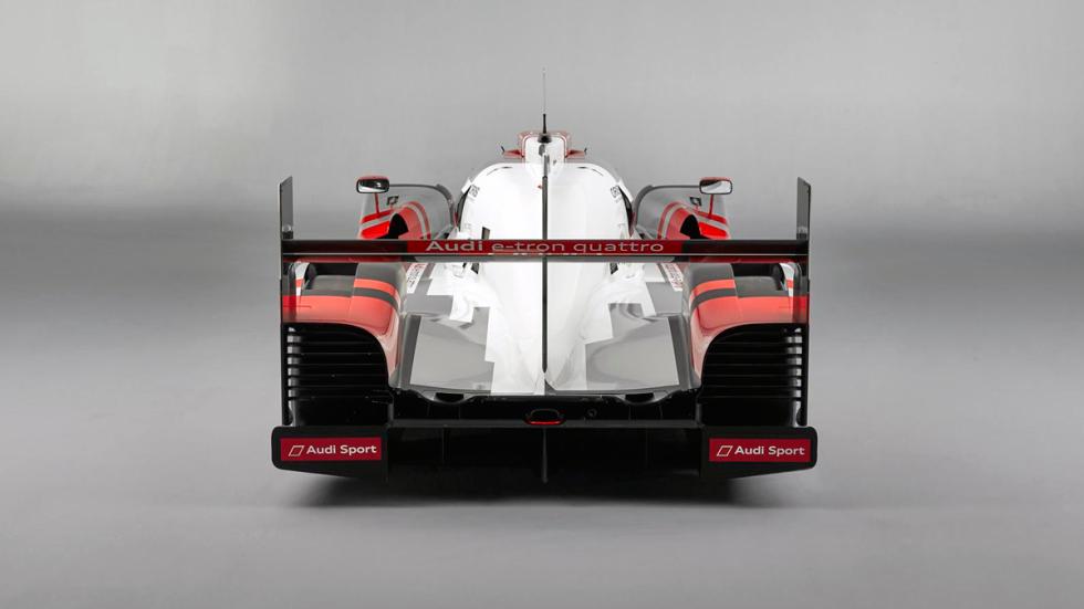 Audi R18 e-tron trasera