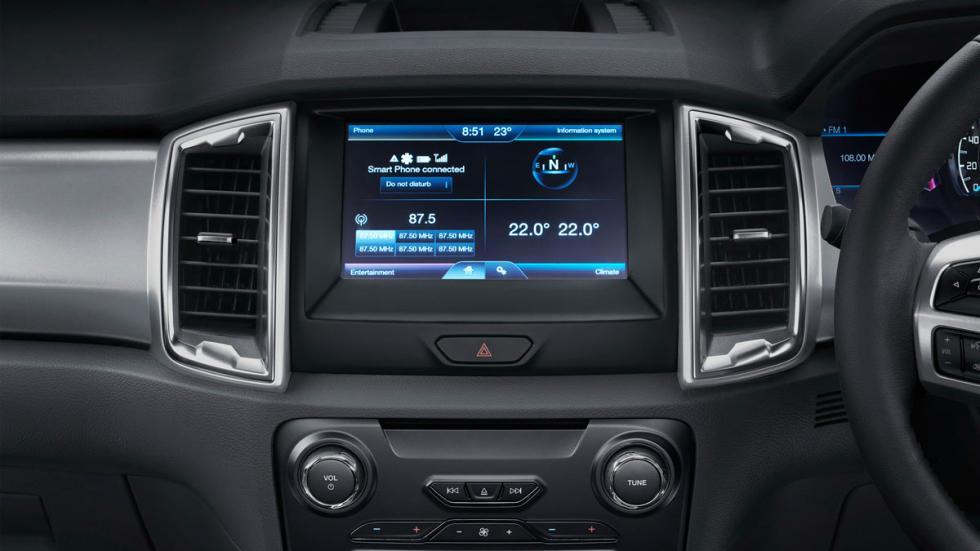 Ford Ranger 2015 pantalla