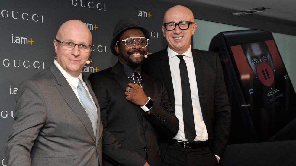Smartwatch de Will.i.am y Gucci - Will.i.am, Mario Bizzarri y Sthéphan Linder
