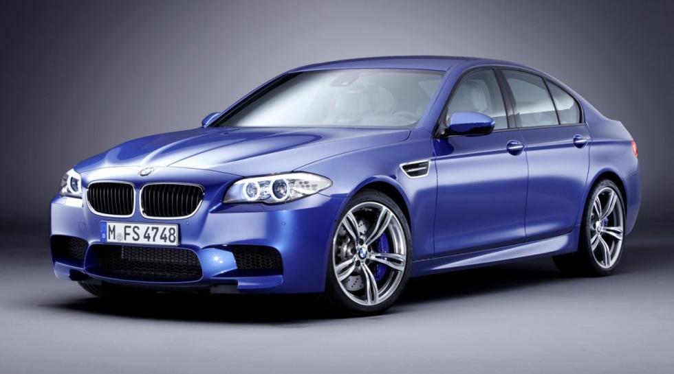 BMW M5 delantera