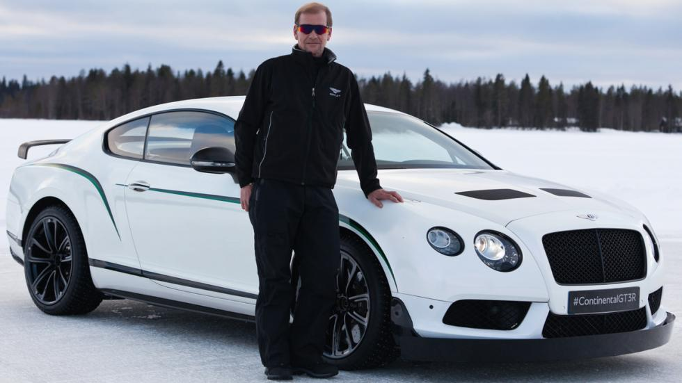 Bentley Power on Ice 2015 - Juha Kankkunen