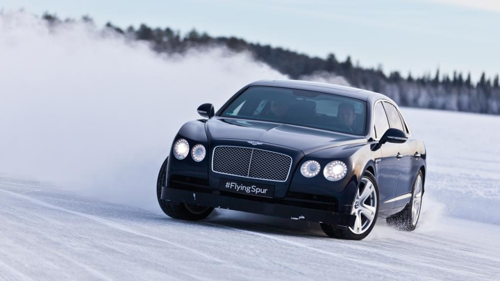 Bentley Power on Ice 2015 - Bentley Flying Spur