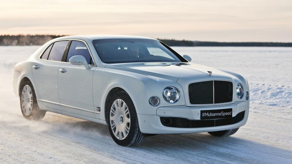 Bentley Power on Ice 2015 - Bentley Mulsanne Speed delantera