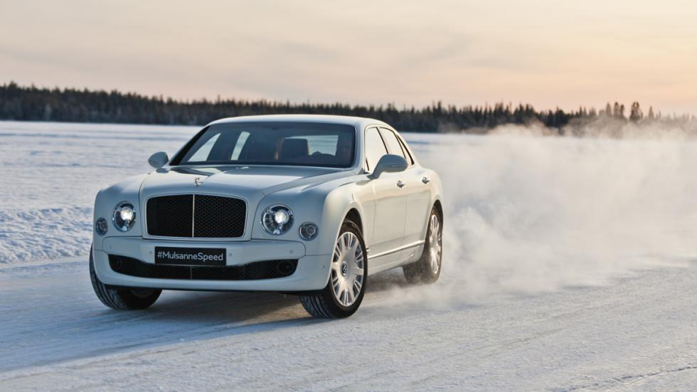 Bentley Power on Ice 2015 - Bentley Mulsanne Speed lateral