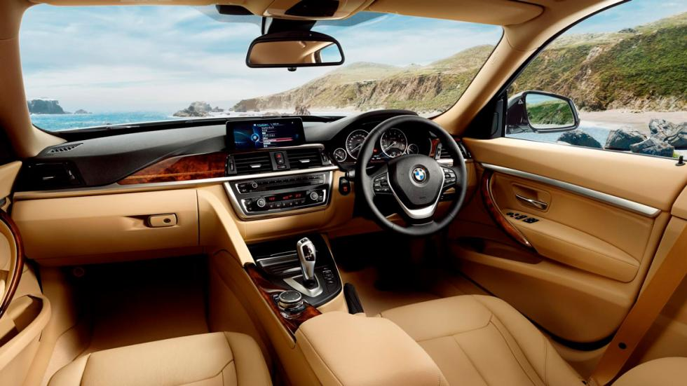 BMW Serie 3 Luxury Lounge Edition salpicadero
