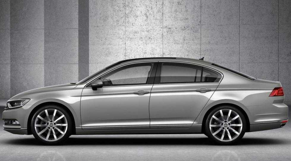 Volkswagen Passat lateral