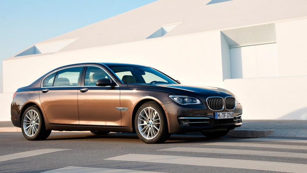 BMW Serie 7 2015 delantera