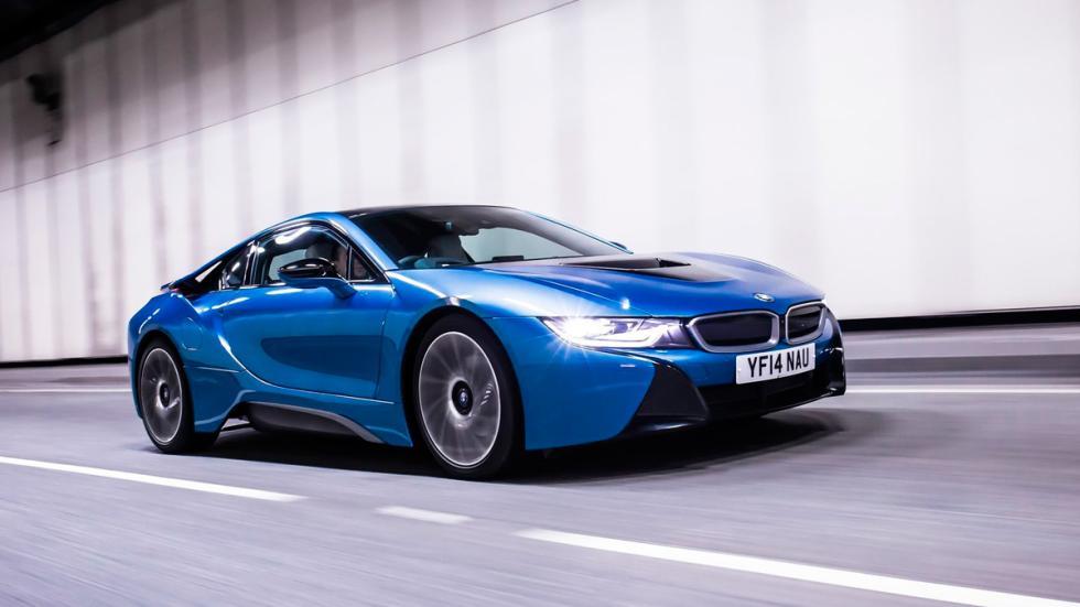BMW i8 delantera