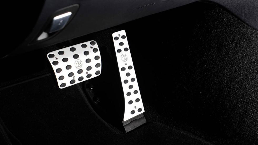 Mercedes Clase C Estate Brabus pedales
