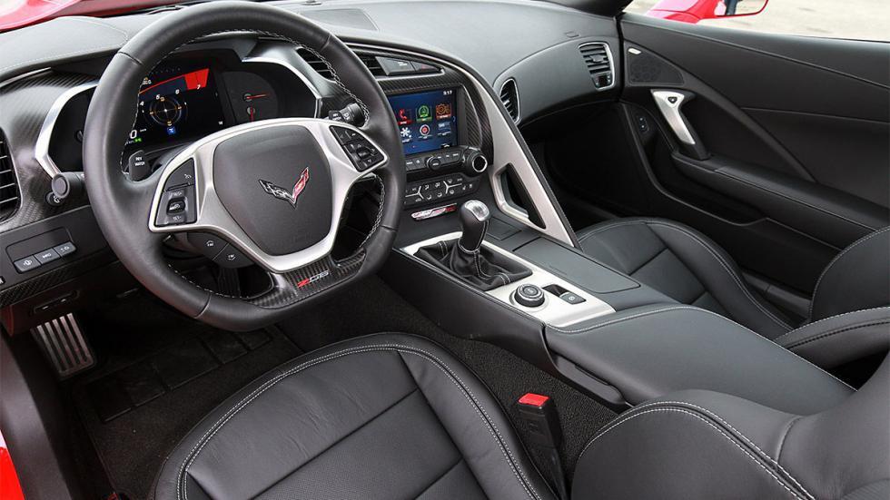 Prueba: Chevrolet Corvette Z06 en circuito relojes volante
