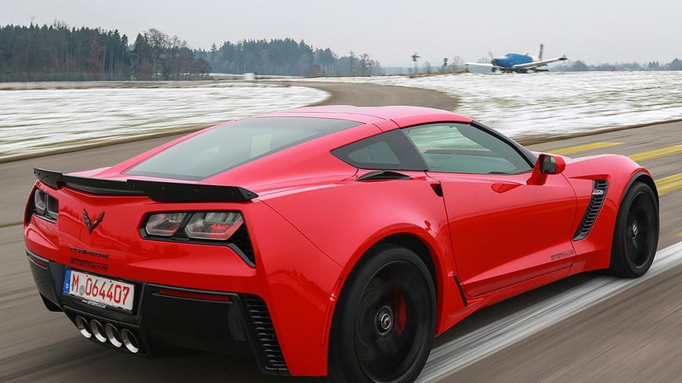 Prueba: Chevrolet Corvette Z06 zaga