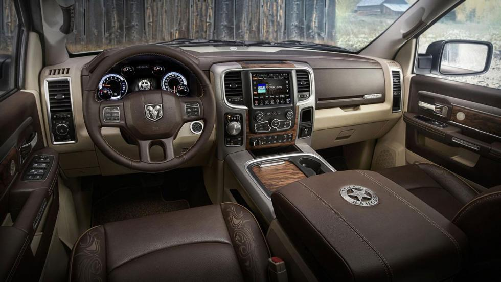 Dodge Ram Texas Ranger interior