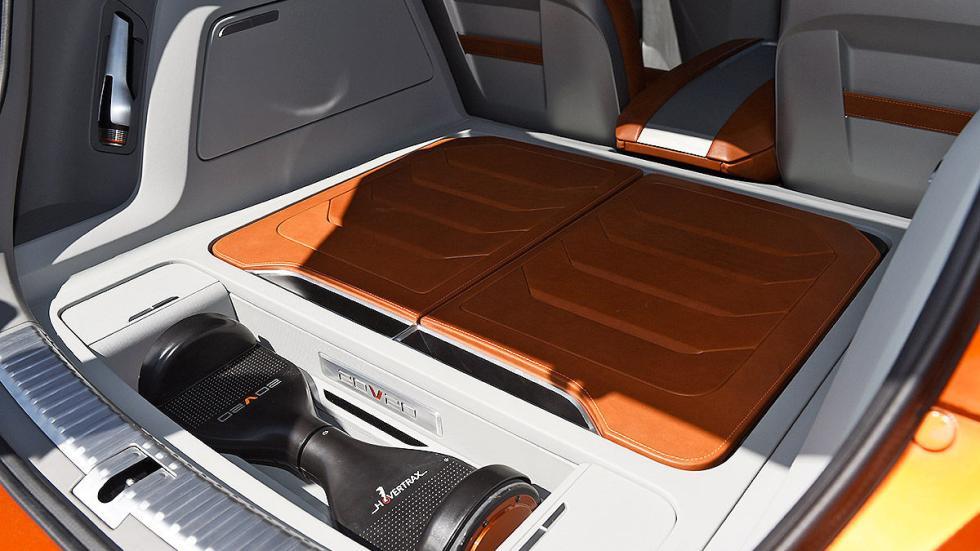 Probamos el futuro SUV de Seat: 20V20 detalle maletero