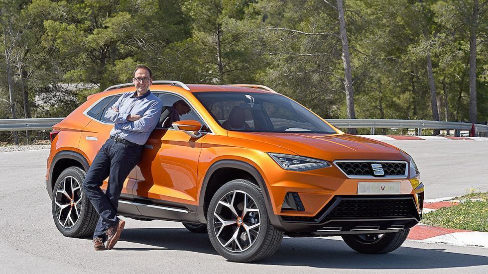 Probamos el futuro SUV de Seat: 20V20 redactor tres cuartos