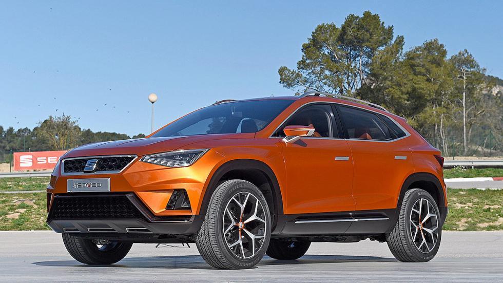 Probamos el futuro SUV de Seat: 20V20 tres cuartos