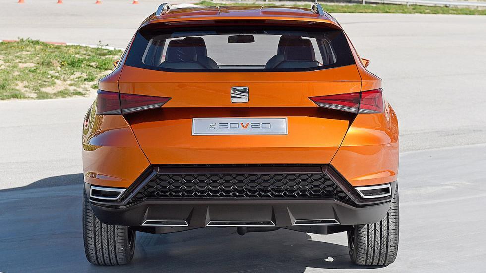 Probamos el futuro SUV de Seat: 20V20 portón
