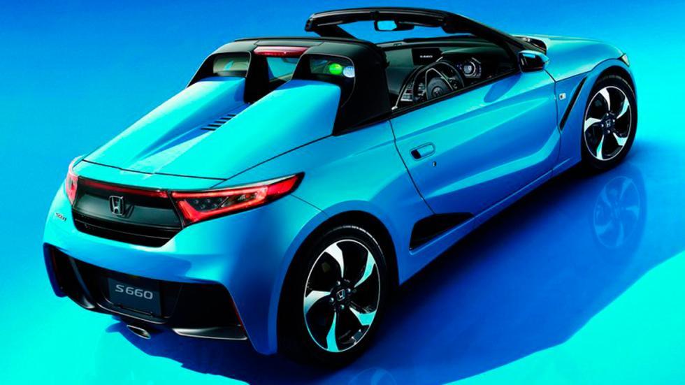 Honda S660 azul