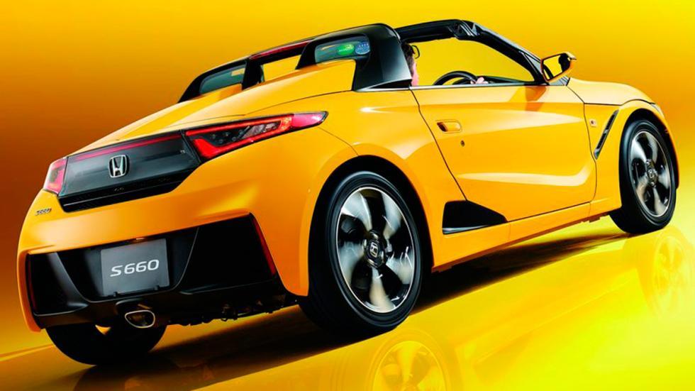Honda S660 amarillo