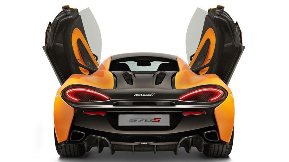 McLaren 570S trasera