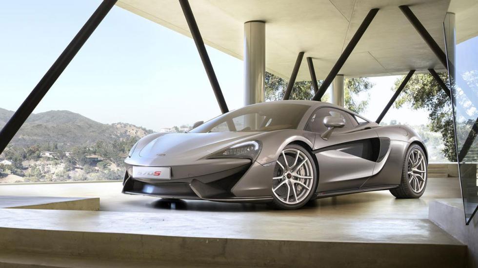 McLaren 570S gris